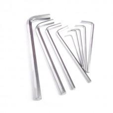 Фото - Набор Г-образных шестигранных удлиненных ключей 9 ед., 1,5-10 мм, Cr-V, 55 HRC INTERTOOL HT-0602
