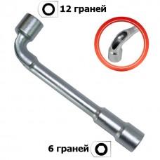 Фото - Ключ торцевой с отверстием L-образный 21мм INTERTOOL HT-1621