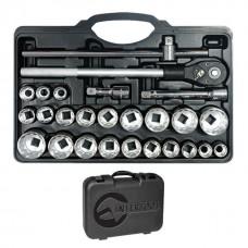 Фото - Профессиональный набор инструментов 3/4', 26 ед INTERTOOL ET-6026