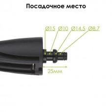 Фото - Насадка роторная (грязевая фреза) к мойкам высокого давления INTERTOOL DT-1571
