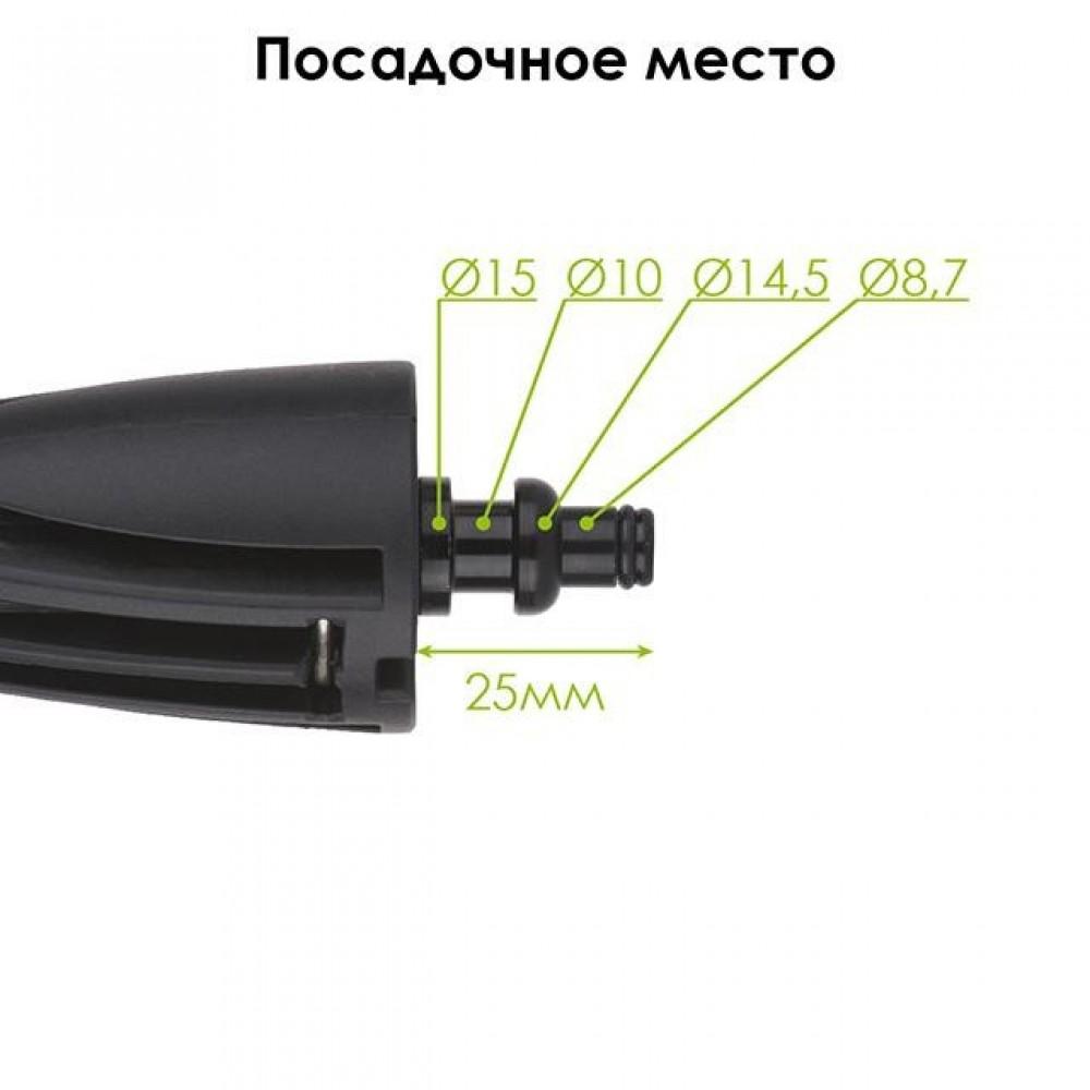Фото №1 - Насадка щетка к мойкам высокого давления INTERTOOL DT-1577