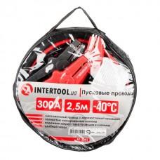Фото - Пусковые провода 300А, 2.5м, до -40°C, чехол INTERTOOL AT-3041