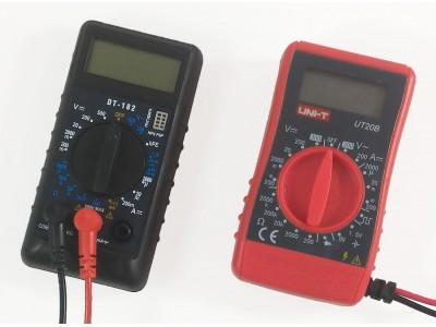 Сравнение и обзор карманных мультиметров UT20B, DT83В и DT182.