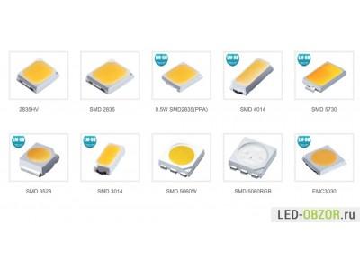 Типы SMD. Какой тип светодиодной ленты лучше?