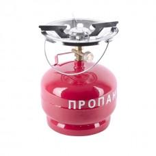 Фото - Комплект газовый кемпинговый 5 л. INTERTOOL GS-0005