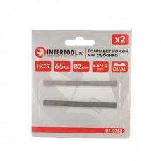 Фото - Комплект ножей для рубанка 82 мм, 2 шт INTERTOOL DT-0782