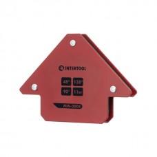 Фото - Держатель магнитный для сварки стрела, 45°, 90°,135°, 11 кг, 70×80×14 мм INTERTOOL MW-0004
