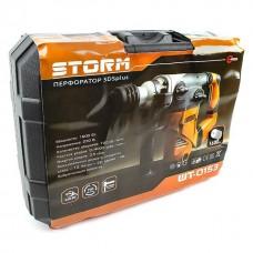 Фото - Перфоратор STORM 1600 Вт, 3 режима, 730 об/мин, 4000 уд/мин INTERTOOL WT-0153
