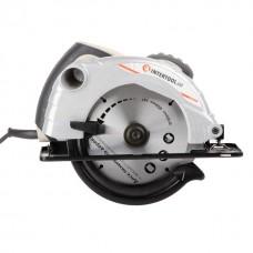Фото - Пила дисковая 1300 Вт, 5000 об/мин, угол наклона 0-45° глубина распила 41/57 мм, диск 185*20 мм INTERTOOL DT-0613