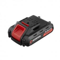Фото - Аккумулятор Li-Ion 18В 2.0Ач для дрели-шуруповерта WT-0314/WT-0313/WT-0317 INTERTOOL WT-0312