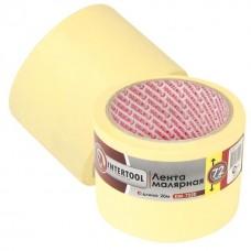 Фото - Лента малярная 72мм, 20м, желтая INTERTOOL DM-7220