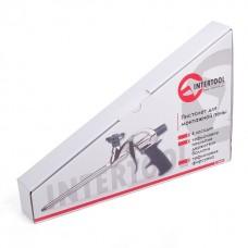 Фото - Пистолет для пены с тефлоновым покрытием держателя баллона + 4 нас. INTERTOOL PT-0604