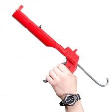 Фото - Пистолет для выдавливания силикона, усиленный пластик INTERTOOL HT-0027