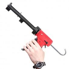 Фото - Пистолет для выдавливания силикона, усиленный пластик, 2 режима INTERTOOL HT-0028