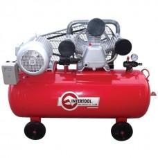 Фото - Компрессор 200 л, 7,5 кВт, 380 В, 8 атм, 1050 л/мин. 3 цилиндра INTERTOOL PT-0040