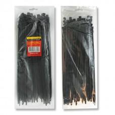 Фото - Хомут пластиковый 3,6x300 мм, (100 шт/упак), черный INTERTOOL TC-3631