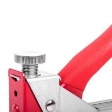 Фото - Механический скобозабивной пистолет под скобу 11,3 x 0,7 x 4-14 мм, обрезиненная рукоятка INTERTOOL RT-0102
