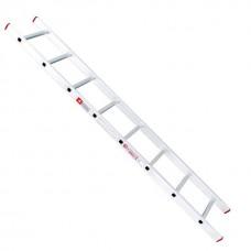 Фото - Лестница алюминиевая приставная 8 ступеней 2,27 м INTERTOOL LT-0108