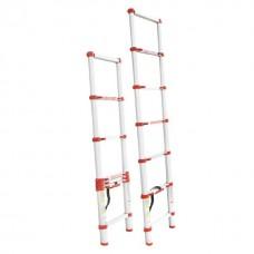 Фото - Лестница алюминиевая телескопическая 6 ступ. 2,00 м INTERTOOL LT-3020