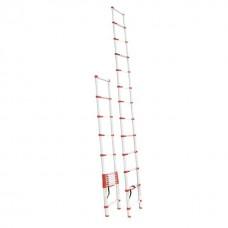 Фото - Лестница алюминиевая телескопическая 12 ступ. 3,80 м INTERTOOL LT-3038