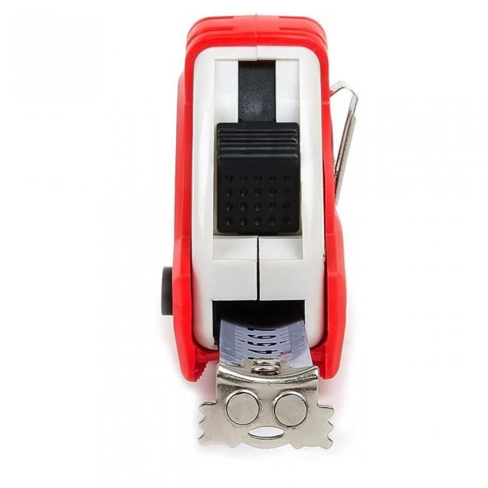 Фото №1 - Рулетка с металлическим полотном 3 м x 16 мм 'Супер Магнит' blister INTERTOOL MT-0303