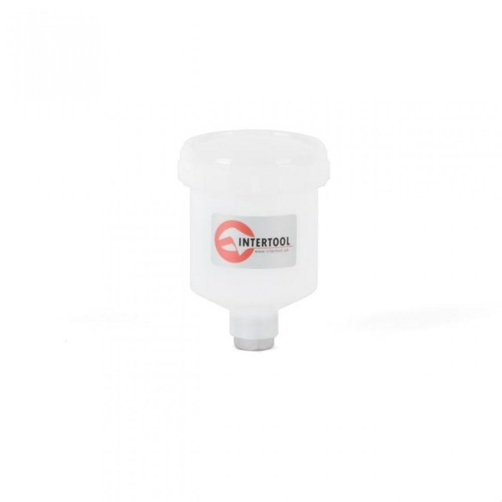 Фото №1 - Бачок пластиковый для HVLP мини, 125мл INTERTOOL PT-1900