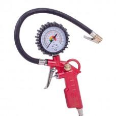 Фото - Пистолет для подкачки колес с манометром 63 мм пневматический (блистер) INTERTOOL PT-0503
