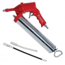 Фото - Пистолет для выдавливания смазки пневматический + две насадки INTERTOOL PT-0607