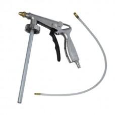 Фото - Пистолет под гравитекс пневматический с гибкой насадкой INTERTOOL PT-0703