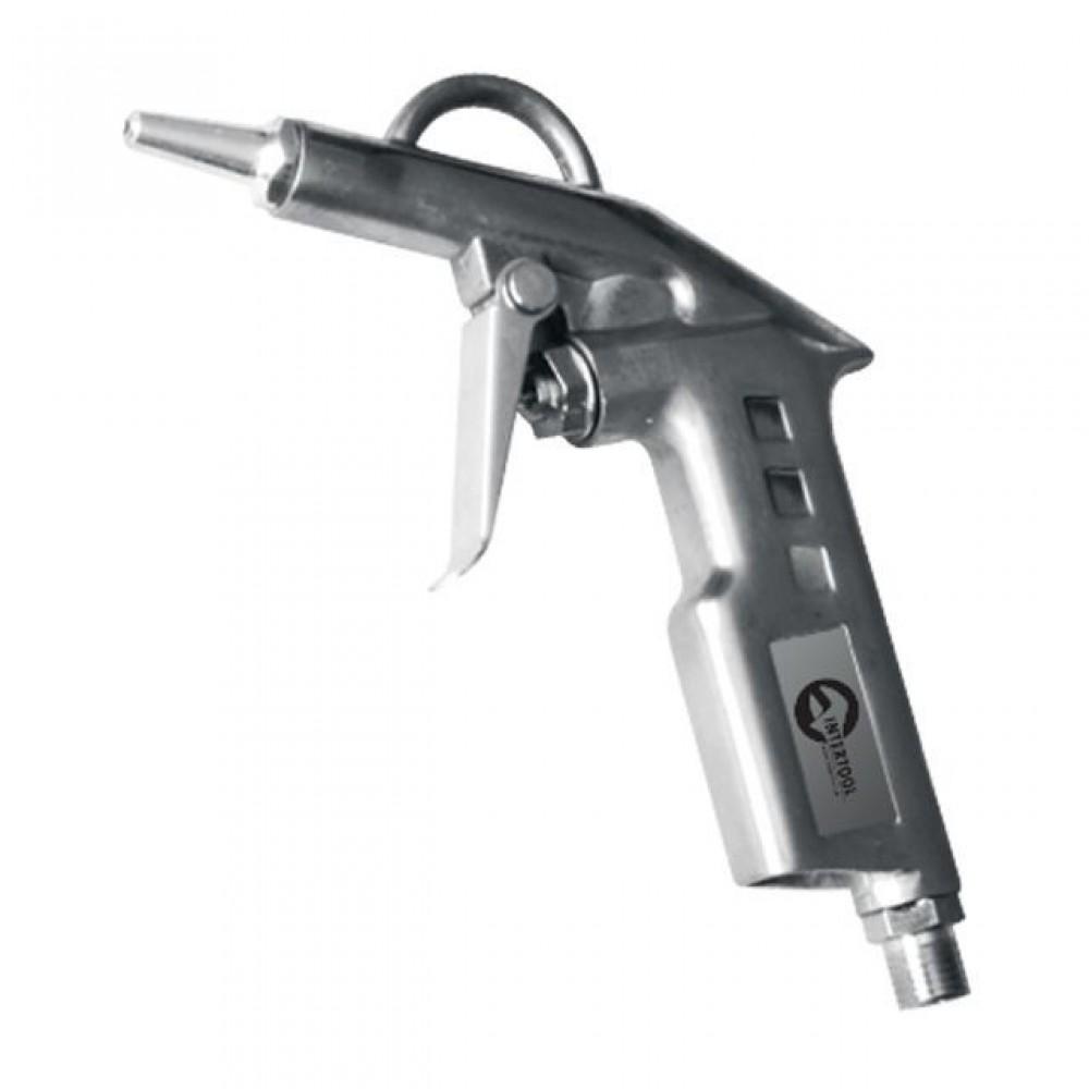 Фото №1 - Пистолет продувочный короткий INTERTOOL PT-0802