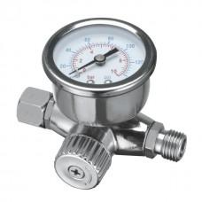 Фото - Регулятор давления воздуха для пистолетов покрасочных, профессиональный 1/4 INTERTOOL PT-1423