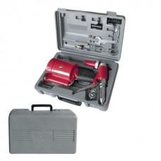 Фото - Пистолет заклепочный пневматический в чемодане с аксессуарами INTERTOOL PT-1304