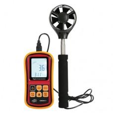 Фото - Анемометр-термометр 0,8-45м/с, -10-45°C BENETECH GM8901X