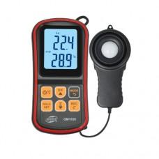 Фото - Цифровой люксметр + термометр, USB 200000 Lux BENETECH GM1030C