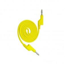 Фото - Шнур мультиметра банан-банан разветвленный, 1м, жёлтый