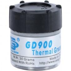 Фото - Термопаста GD900 (теплопроводность 4.8 Вт/мК), 30гр., банка, серая