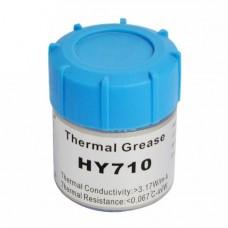 Фото - Термопаста HY700 Halnziye (теплопроводность 3.17Вт/мК), серая, 100гр. банка