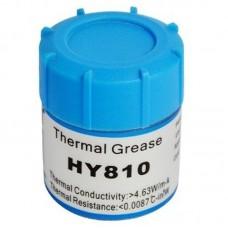 Фото - Термопаста HY810 Halnziye (теплопроводность 4.63Вт/мК), серебристая, 10гр. банка