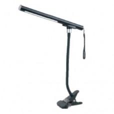 Фото - Настольная LED лампа MagicLamp с прищепкой, разборная, переносная, чёрная
