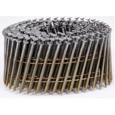 Фото - Гвозди в барабанной обойме для пневматического гвоздезабивателя VOREL; l = 50 мм. d = 2,1 мм, V-71992