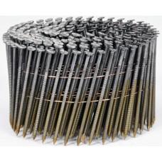 Фото - Гвозди в барабанной обойме для пневматического гвоздезабивателя VOREL; l = 70 мм. d = 2,5 мм, V-71994