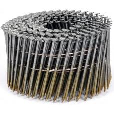 Фото - Гвозди в барабанной обойме для пневматического гвоздезабивателя VOREL; l = 75 мм. d = 2,5 мм, V-71995