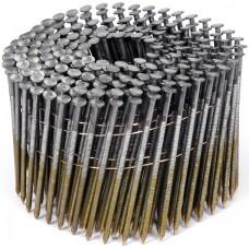 Фото - Гвозди в барабанной обойме для пневматического гвоздезабивателя VOREL; l = 80 мм. d = 2,8 мм, V-71996