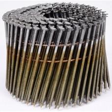 Фото - Гвозди в барабанной обойме для пневматического гвоздезабивателя VOREL; l = 90 мм. d = 2,8 мм, V-71997