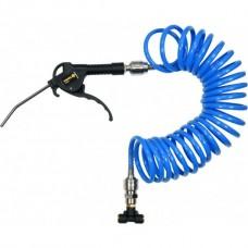 Фото - Пистолет пневматический VOREL со спиральным шлангом l = 5 м, V-81634