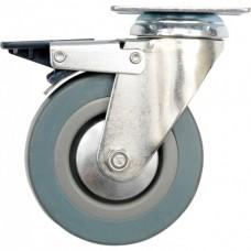 Фото - Колесо к тележке резиновое d = 125 мм, b = 27 мм VOREL, V-87384