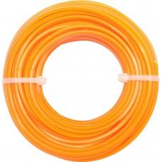 Фото - Леска для газонокосилки круглая VOREL, d = 2,4 мм, l = 15 м, V-89462