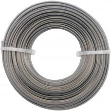 Фото - Леска для тримера 3-угольная FLO: d = 2,4 мм; l = 15 м, V-89470