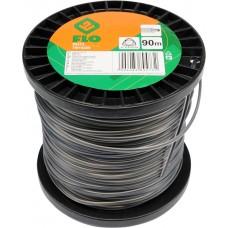 Фото - Леска для тримера 3-угольная FLO: d = 2,4 мм; l = 90 м, V-89473