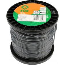 Фото - Леска для тримера 3-угольная FLO: d = 3,0 мм; l = 60 м, V-89475